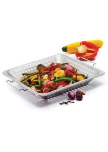 Grill wok - rozsdamentes