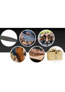 OFYR 100 Induló grill kiegészítő csomag: védő tető, kerek grillrács, 3 db nyárs, bőr kötény, cédrus sütőlap, tűzifa tartó táska