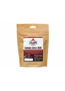 JD's BBQ Cocoa-Chili Rub visszazárható tasakban 300 g
