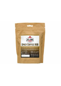 JD's BBQ Spicy Coffee Rub visszazárható tasakban 300 g