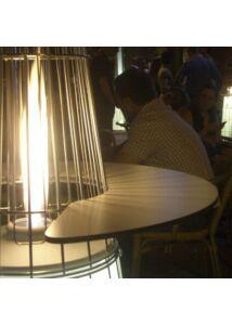 Tavolino kerek könyöklő és kávézóasztal Dolve Vita teraszfűtéshez