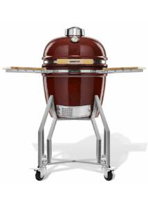 Kamado Chef 1600 Prestige Red Smooth (rozsadmentes acél)