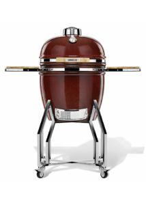 "Kamado Chef 19"" kerámia grill piros sima"