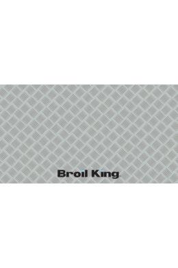 Grill alátét szőnyeg ezüst (PVC)