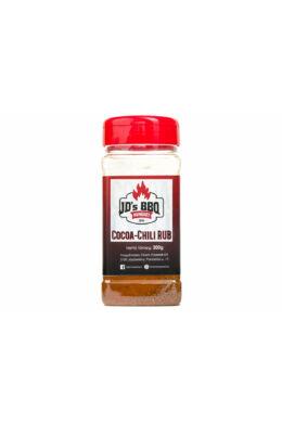 JD's BBQ Cocoa-Chili Rub szóródobozban 300 g