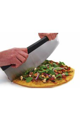 Félhold alakú pizzavágó