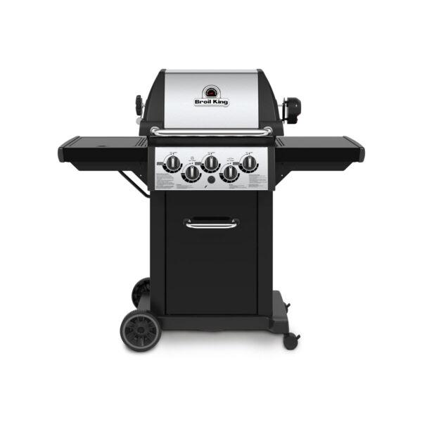 Monarch 390 kerti gázgrill,grillsütő, Kerti grill