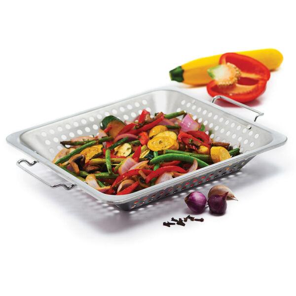 Grill wok - rozsdamentes , grill kiegészítő , Wok